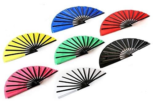 No logo Kppto Freie Verschiffen Qualität Kung-Fu-Fan magische Tricks magische Stütze Bambus Fan Magie Spielzeug, Sieben Farben optional (Farbe : Rosa)