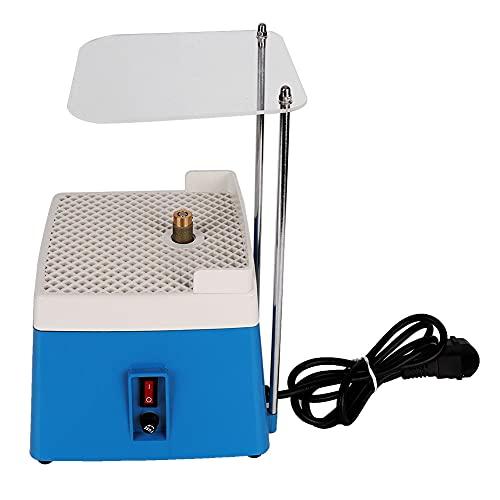 Mini amoladora de vidrio de cerámica de agua automática portátil, amoladora teñida de energía, para(MD902+EU European standard blue with bracket 220V)