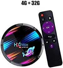 $40 » RONSHIN Electronics H96 Max X3 TV Box Android 9.0 STB 4G RAM+32GB/64GB/128GB ROM .4G/5G WiFi BT4.0 1000M Media Player 4G+32G US Plug