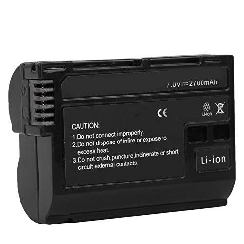 BOLORAMO Compatible con cámara de batería de Iones de Litio de Disparo Continuo de Alta Velocidad Batería EN-EL15, para cámara V1 D500 D600 D610 D750 D800 D7000 D7200