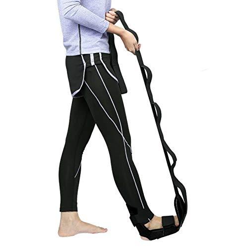 Yoga Ligament Stretching Belt Foot Drop Strap Leg Training Foot Correct Ankle, Yoga Rehabilitation Stretching Strap
