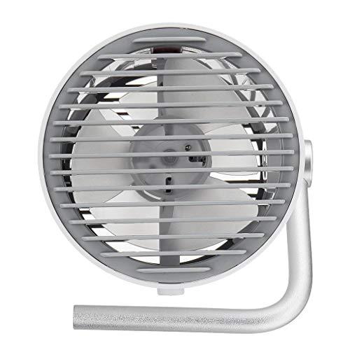 SDENSHI DC 5 V Mini Control del Toque Giratorio Portátil Ultra Silencioso Portátil USB Cooling Desk Fan