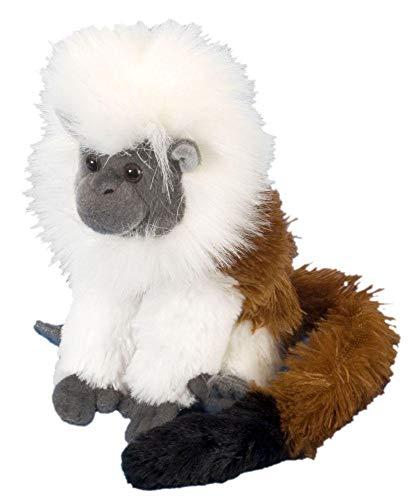 Wild Republic - CK Mini tití cabeza blanca de peluche, 20 cm (12277)