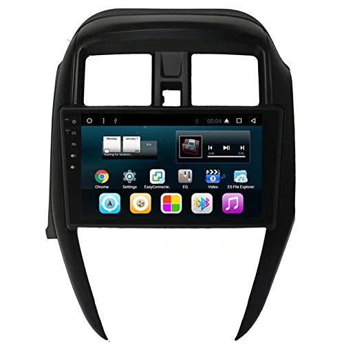 TOPNAVI 16GB Android 7.1 Stéréo de Voiture pour Nissan Sunny 2014 2015 2016 Auto Radio Navigation GPS Stéréo WiFi 3G RDS Lien Miroir FM AM BT Audio Vidéo