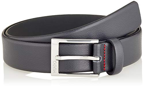 HUGO Mens Gellot_Sz35 Belt, Dark Grey(021), 105