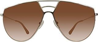 Chloe Ricky Burnt Orange Gradient Round Ladies Sunglasses CE139S 805 62