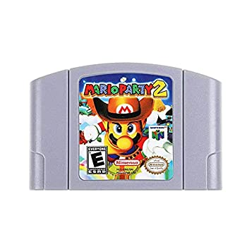 New Mario Party 2 Video Game Cartridge US Version For Nintendo 64 N64 Game Console