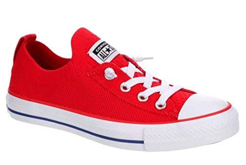 Converse Chuck Taylor All Star Shoreline - Zapatillas de deporte para mujer, Rojo (Rojo), 38 EU