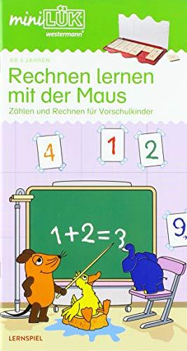 miniLÜK: Rechnen lernen mit der Maus: Einfaches Zählen und Rechnen für Vorschulkinder: Vorschule/1. Klasse - Mathematik - Einfaches Zählen und Rechnen für Vorschulkinder