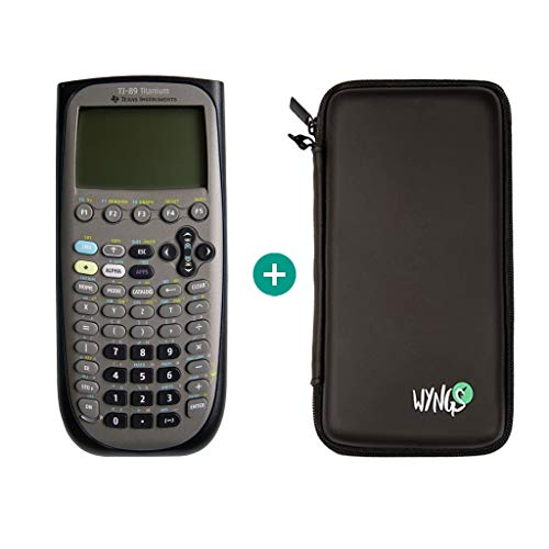 TI 89 Titanium Calculator en koffer