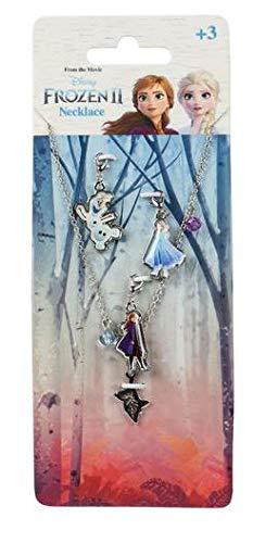 アナと雪の女王2 ネックレス 取替ペンダントトップ アクセサリー アナ エルサ オラフ プレゼント 子供 女の子 B [並行輸入品]