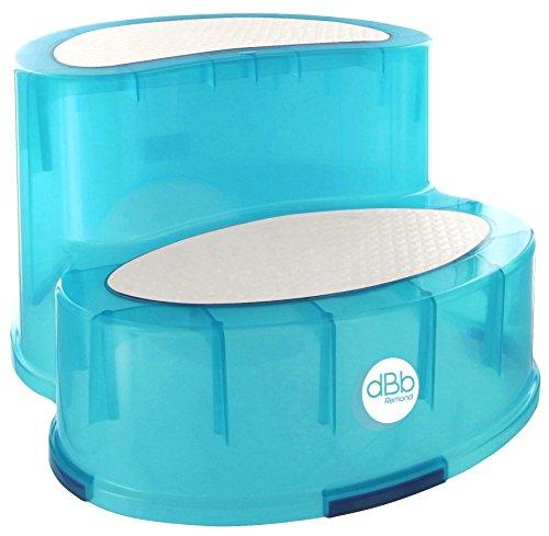 DBD Remond 307049 - Escabel infantil antideslizante, color turquesa