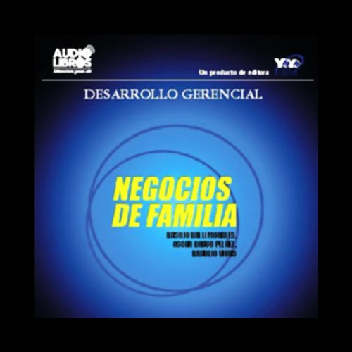 Negocios de Familia [Family Business] audiobook cover art