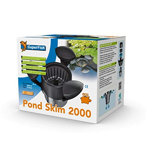 Superfish 696050/2298 Pond Skim 2000 (Teichskimmer bis 25m2)