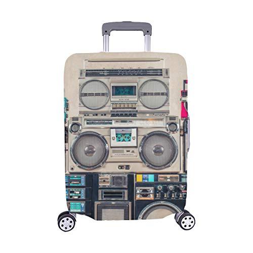 Anticuado Modelo de Placa giratoria de gramófono Spandex Maleta de Viaje Cubierta Protectora para...