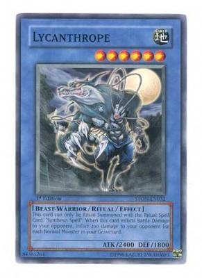 Yu-Gi-Oh! - Lycanthrope (STON-EN032) - Strike of Neos - 1st Edition - Common