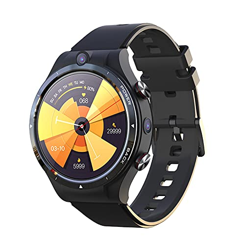 Reloj Inteligente De Llamadas 4G, Pantalla IPS De 1.6 Pulgadas, Cámara Dual De 4GB + 128GB 5.0MP + 2.0MP, Banco De Energía De 900mAh IP67, Reloj Deportivo con GPS WiFi a Prueba De Agua