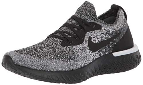 Nike Women's Epic React Flyknit Running Shoe 8.5 Black