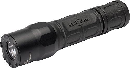 Surefire G2X Maxvision Hochleistungs-LED-Taschenlampe, Schwarz