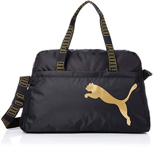 PUMA Active Essential Sporttasche Damen schwarz/Gold, OS