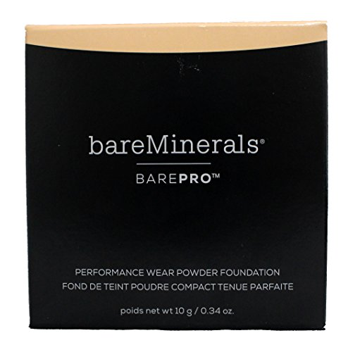 bareMinerals Barepro Performance Wear Powder Foundation, Light Natural, 0.34 Ounce
