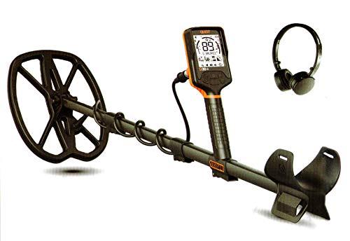 DETEKNIX Quest Q30PLUS - Detector de metales Q30 Plus inalámbrico impermeable 5 m impermeable placa bobina 11' x 9' Raptor Q30 +