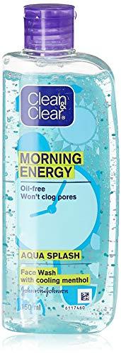 Clean & Clear Morning Energy Aqua Splash, Blue, 150 ml