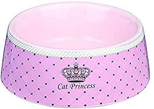 Trixie 24780 Cat Princess Keramiknapf, 0,18 l/ø 12 cm, rosa