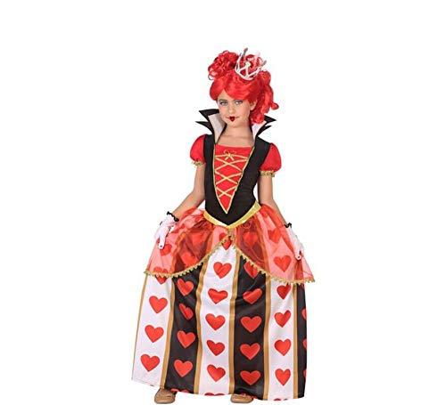 Atosa-56870 Disfraz Reina Corazones, Color Rojo, 3 a 4 años (56870)