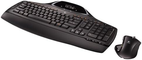 Logitech Cordless Desktop MX 5500 Revolution Bluetooth Mouse and Keyboard