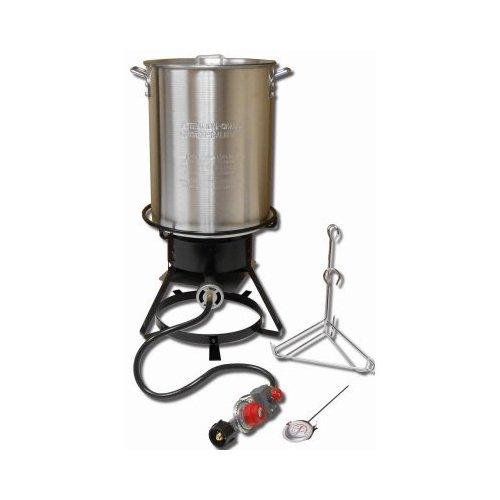 King Kooker 1229 29 Qt Aluminum Turkey Frying Cooker Package