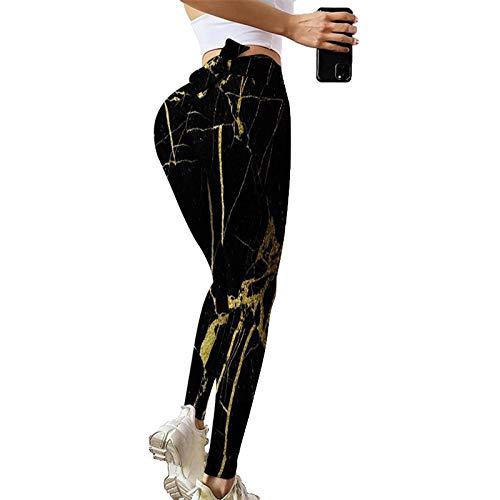 GenericBrands Pantalones de Yoga Ajustados Leggings Push Up Mujer Mallas Pantalones Deportivos Alta Cintura Elásticos Yoga Fitness