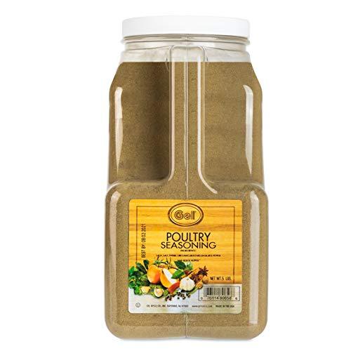 Gel Spice Poultry Seasoning 5 Lb Food Service Size