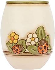 VASO collo tempesta di sabbia LxH 9,5 x 30 cm nuovo fiori vaso vaso in ceramica decorazione