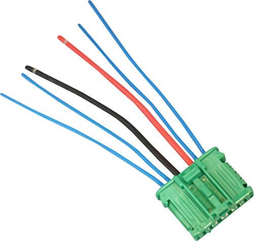 Twowinds - 7701207718 Conector resistencia del motor ventilador C3 C5 Megane II Twingo 607