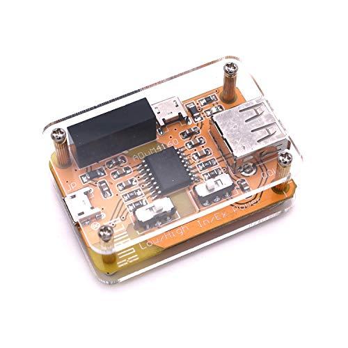 DollaTek USB Isolator 1500V Isolator ADUM4160 USB-zu-USB-Isolatormodul Audio-Rauschunterdrücker Industrieller Isolatorschutz