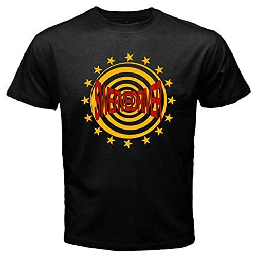 Swervedriver Logo Men's Black T-Shirt Size S M L XL 2XL 3XL