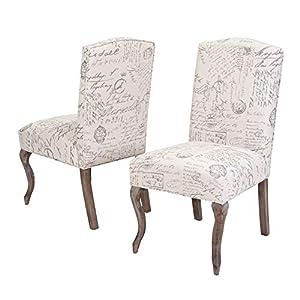 41VpglcaJ2L._SS300_ Coastal Dining Accent Chairs & Beach Dining Accent Chairs