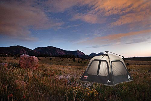 Coleman Cabin Tent with Instant Setup | Cabin Tent for Camping Sets Up in 60 Seconds 1