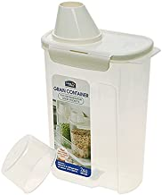 LOCK & LOCK Grain 10 Cups Storage Container, 81 oz, Clear