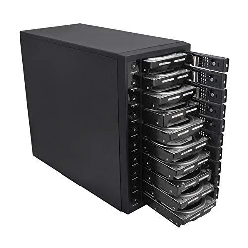 『センチュリー 裸族のスカイタワー 10Bay IS 独立電源スイッチ搭載 HDD 10台搭載可能ケース CRST1035U3IS6G』の3枚目の画像