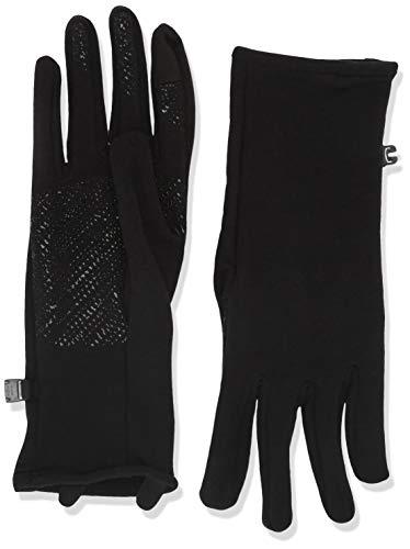 Icebreaker Merino Quantum Doublure de gant d'hiver en laine pour homme ou femme L Noir