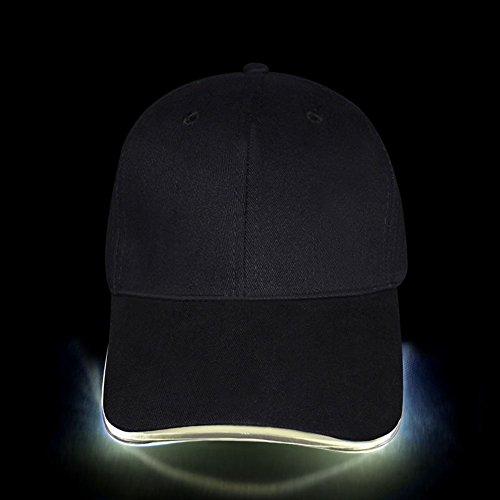 Fashion&Cool Gorra Luminosa LED para Deportes, Fiestas,...