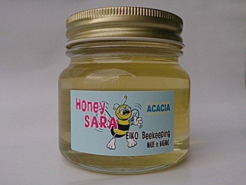 アカシア 蜂蜜 300g 純粋 国産 生 はちみつ 無加熱 無加糖 長野県産