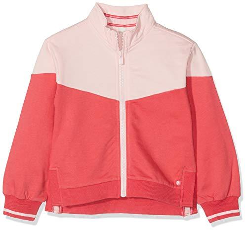 ESPRIT KIDS Mädchen RP1700307 Sweatshirt Card Strickjacke, Rosa (Strawberry 342), (Herstellergröße: 116+)