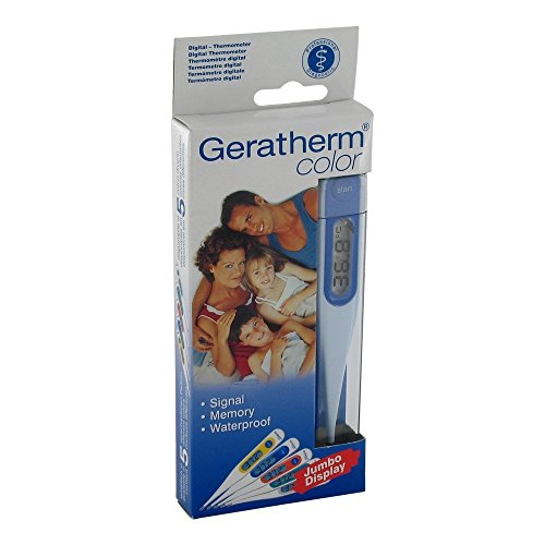 Geratherm Color, colorful digital thermometer by Geratherm