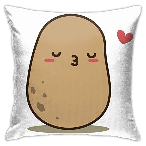 Yanting Kartoffel Kissenbezug Boden Kissenbezug Sofa Kissen Kissenbezug Rückenlehne über Kissen Interieur