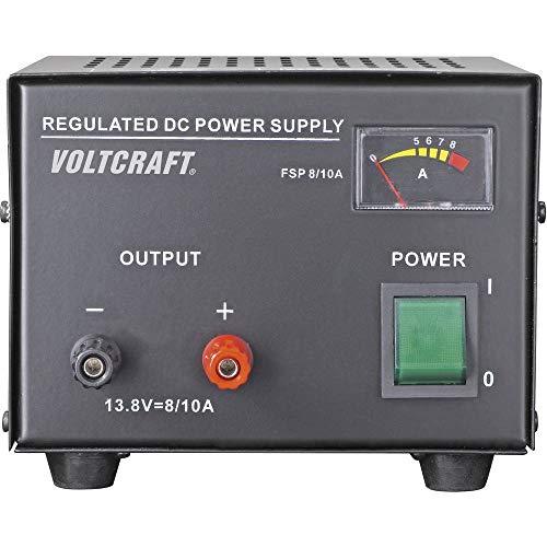 Voltcraft FSP-1138 Labornetzgerät, Festspannung 13.8 V/DC 8A 110W Anzahl Ausgänge 1 x