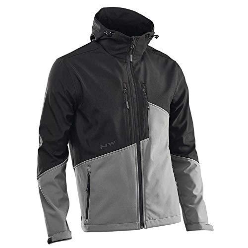 Northwave Enduro Soft Shell Jacke Herren Black/Anthracite Größe XL 2020 wasserdichte Jacke