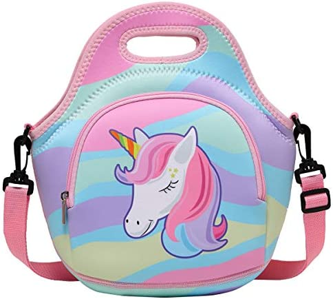 Lunch Bag for Girls Chasechic Cute Lightweight Neoprene Insulated Lunch Boxes Tote for Women product image
